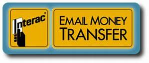 Honour your commitment via ETransfer